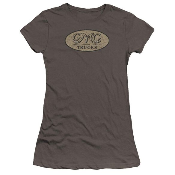 Gmc Vintage Oval Logo Premium Bella Junior Sheer Jersey