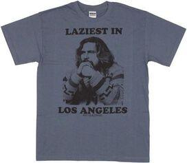 Big Lebowski Laziest T-Shirt
