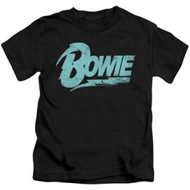 David Bowie Logo Short Sleeve Juvenile T-Shirt