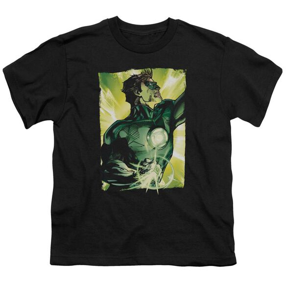 Green Lantern Up Up Short Sleeve Youth T-Shirt