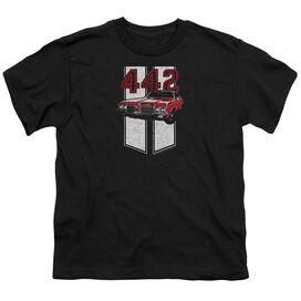 Oldsmobile 442 Short Sleeve Youth T-Shirt