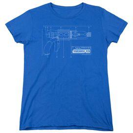 WAREHOUSE 13 TESLA GUN-S/S WOMENS T-Shirt