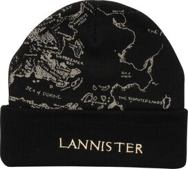 Game of Thrones Lannister Map Cuff Beanie