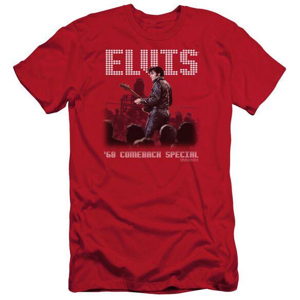 Elvis Return Of The King Short Sleeve Adult T-Shirt