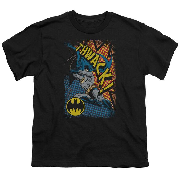 Batman Thwack Short Sleeve Youth T-Shirt