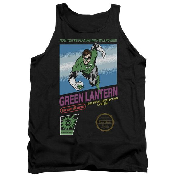Green Lantern Box Art Adult Tank