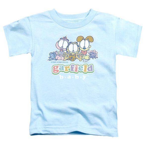GARFIELD BABY GANG - S/S TODDLER TEE - LIGHT BLUE - T-Shirt