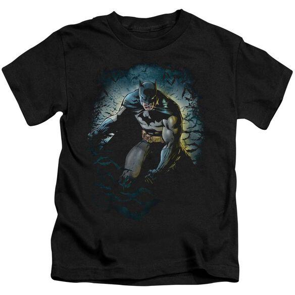 Batman Bat Cave Short Sleeve Juvenile T-Shirt
