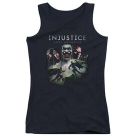 Injustice Gods Among Us Key Art Juniors Tank Top