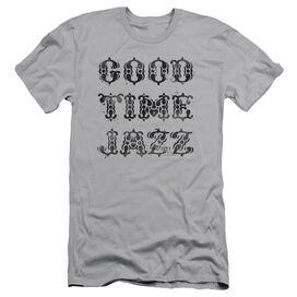 GOOD TIME JAZZ GTJ VINTAGE - S/S ADULT 30/1 - SILVER T-Shirt