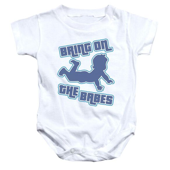 Bring Them On Infant Snapsuit White Xl