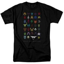 Power Rangers Villians Short Sleeve Adult T-Shirt