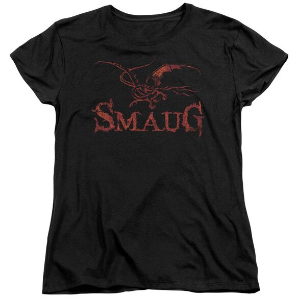 Hobbit Dragon Short Sleeve Womens Tee T-Shirt