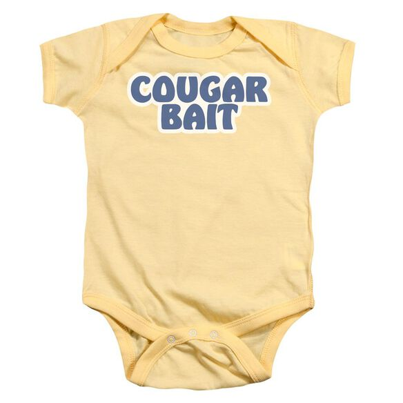 Cougar Bait Infant Snapsuit Banana Md