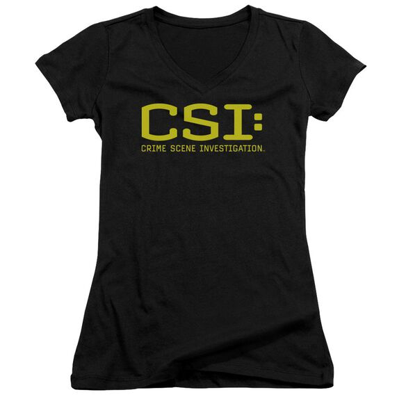 Csi Logo Junior V Neck T-Shirt