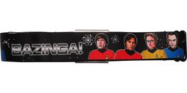 Big Bang Theory Cast Star Trek Bazinga Seatbelt Mesh Belt