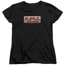 Gmc Beat Up 1959 Logo Short Sleeve Womens Tee T-Shirt