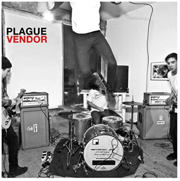 Plague Vendor - Free To Eat (Clear Red Vinyl)