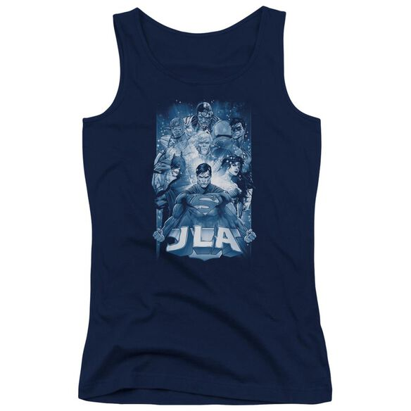 Jla Burst Juniors Tank Top