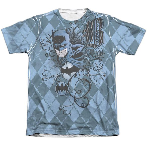 Batman Batgyle Adult 65 35 Poly Cotton Short Sleeve Tee T-Shirt