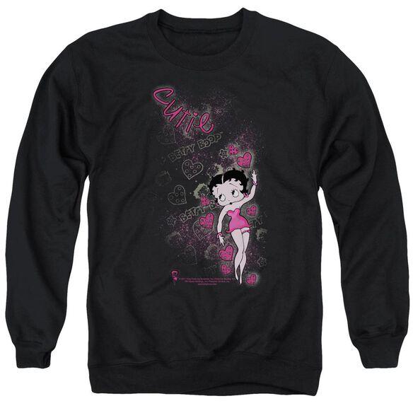 Betty Boop Cutie Adult Crewneck Sweatshirt