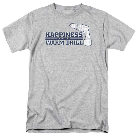 Happiness Is Short Sleeve Adult Athletic Heather T-Shirt