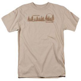 HARD WOOD LODGE - ADULT 18/1 - SAND T-Shirt