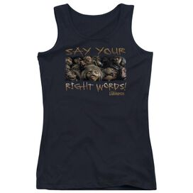 Labyrinth Say Your Right Words Juniors Tank Top