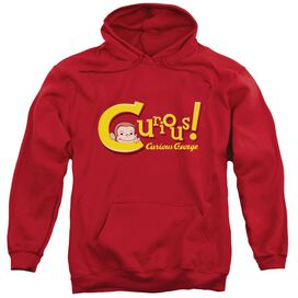 Curious George Curious - Adult Pull-over Hoodie