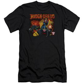 Judge Dredd Through Fire Premuim Canvas Adult Slim Fit