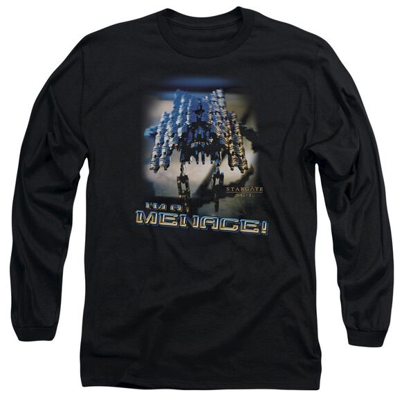 Sg1 Menace Long Sleeve Adult T-Shirt