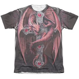 Anne Stokes Gothic Guardian Adult Poly Cotton Short Sleeve Tee T-Shirt