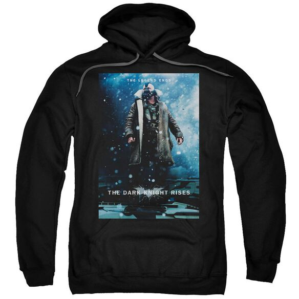 Dark Knight Rises Bane Poster Adult Pull Over Hoodie