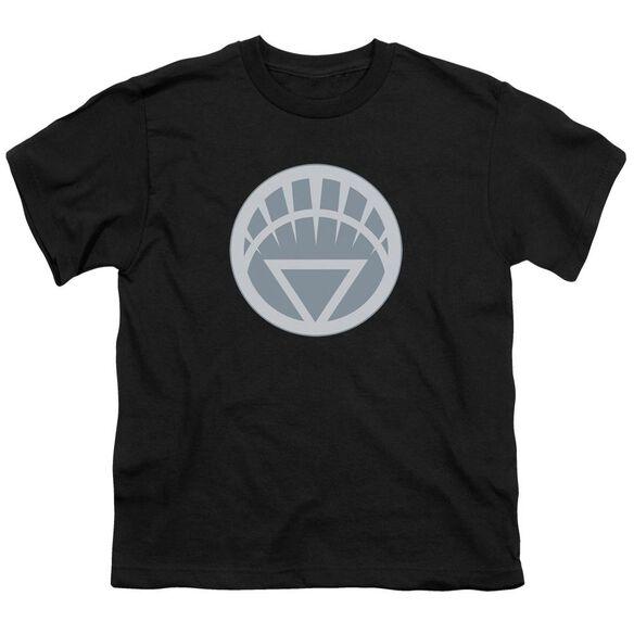 Green Lantern White Symbol Short Sleeve Youth T-Shirt