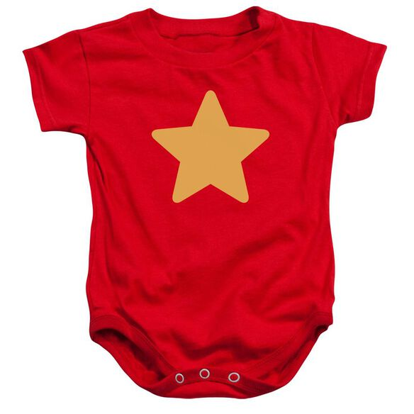 Steven Universe Star Infant Snapsuit Red