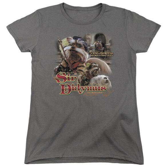 Labyrinth Sir Didymus Short Sleeve Womens Tee T-Shirt