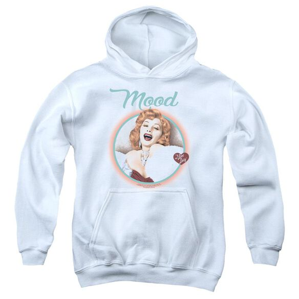 I Love Lucy Mood Youth Pull Over Hoodie