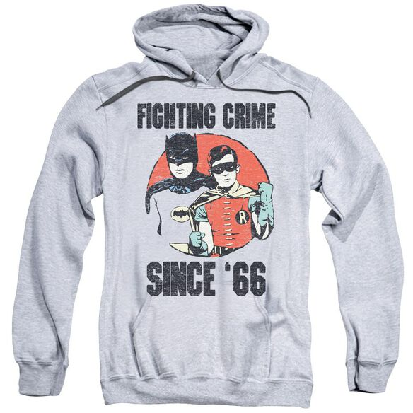 Batman Classic Tv Since 66 Adult Pull Over Hoodie Athletic