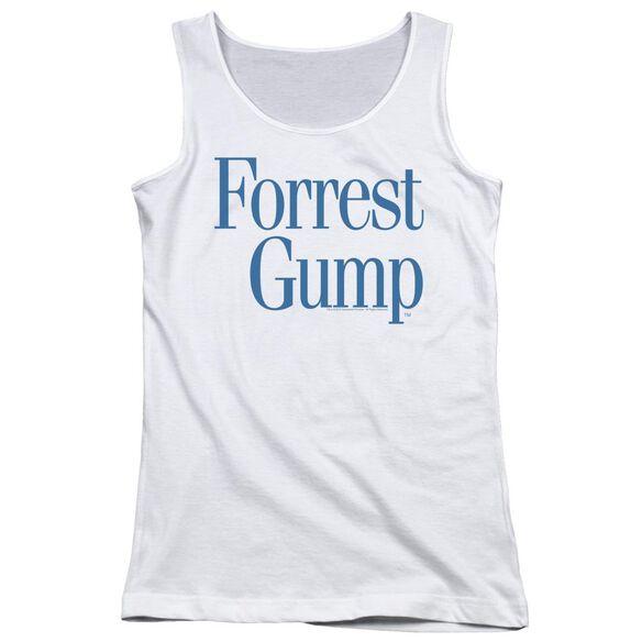 Forrest Gump Logo Juniors Tank Top