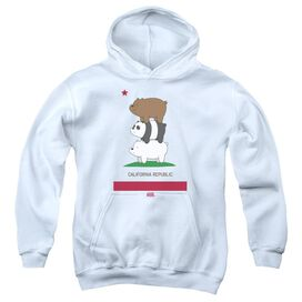 We Bare Bears Cali Stack Youth Pull Over Hoodie