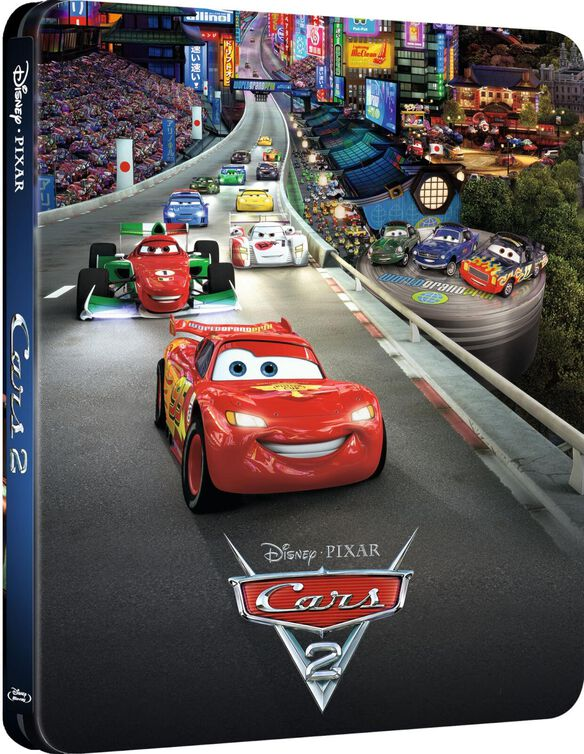 Cars 2 [Limited Edition Blu-ray Steelbook]