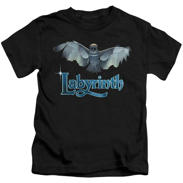 Labyrinth Title Sequence Short Sleeve Juvenile Black T-Shirt