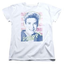 Saved By The Bell Preppy Short Sleeve Womens Tee T-Shirt