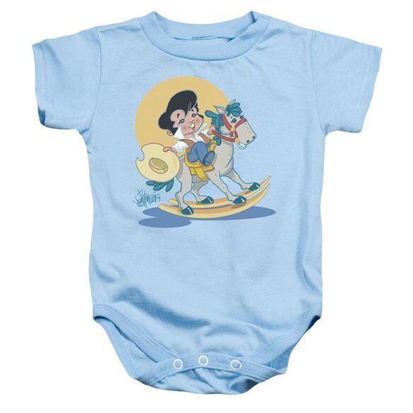 Elvis Yip E Infant Snapsuit Light Blue Lg