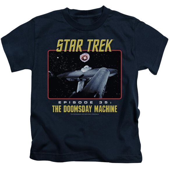St Original The Doomsday Machine Short Sleeve Juvenile T-Shirt