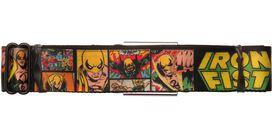 Iron Fist Comic Panels Seatbelt Belt