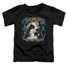 Def Leppard Hysteria Short Sleeve Toddler Tee Black T-Shirt