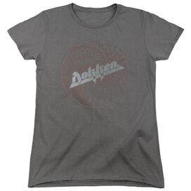 Dokken Breaking The Chains Short Sleeve Womens Tee T-Shirt
