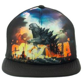 Godzilla Poster Sublimated Trucker Hat