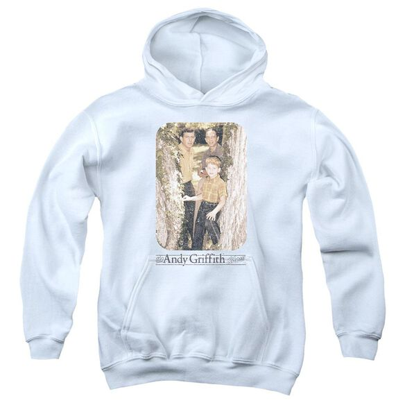 Andy Griffith Tree Photo Youth Pull Over Hoodie